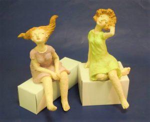 Paar sitzend